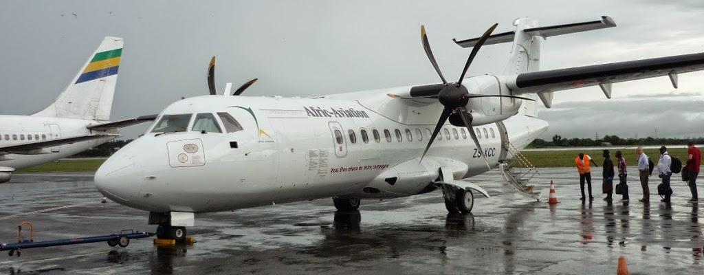 Afric Aviation 1er transporteur aérien au Gabon (Officiel)