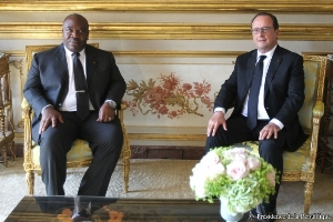Les deux chefs d'Etat en tête à tête @ Elysée.fr