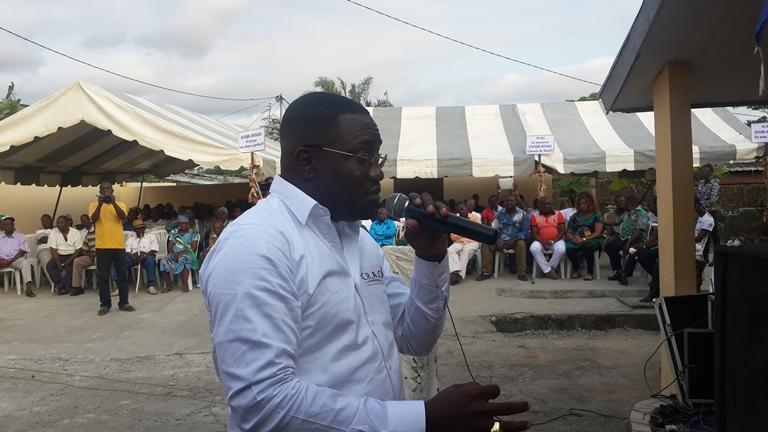 Le président du CRAC en pleine sensibilisation @ Gabonactu.com