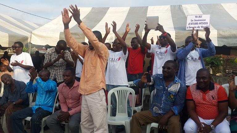 La jeunesse d'Atsibe-Ntsoss a bien reçu le message @ Gabonactu.com