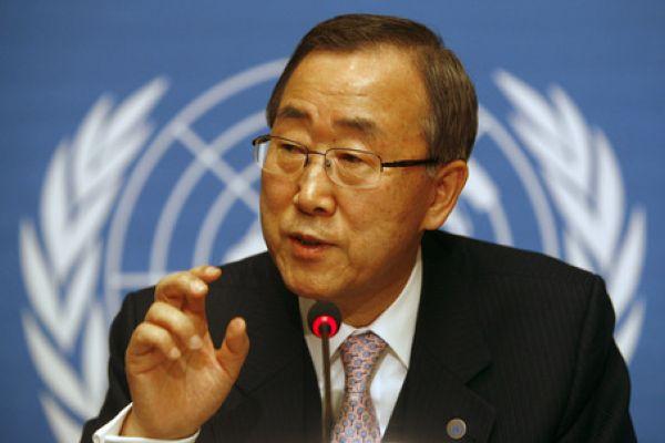 750 millions d'adultes dans le monde sont analphabètes (Ban Kimoon)