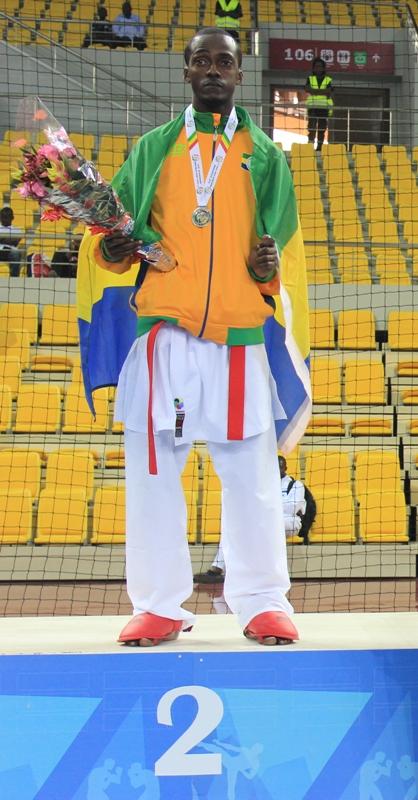 11èmes Jeux africains : Les karatékas gabonais décrochent deux médailles
