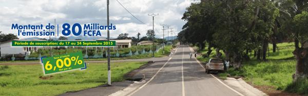 Le Gabon lance un emprunt obligataire de 80 milliards de FCFA