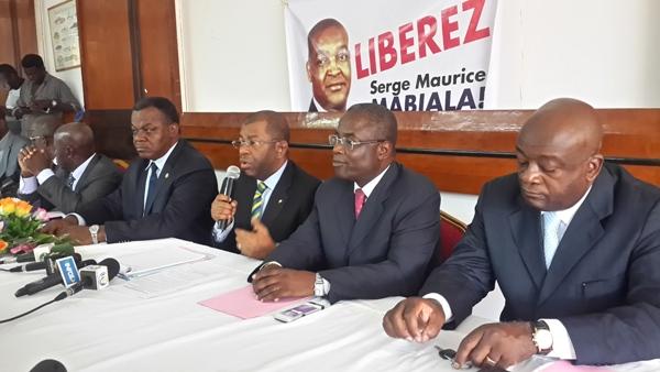 Vendredi c'est le haut commandement du mouvement Heritage et Modernité qui a plaidé en faveur de Mabiala @ Gabonactu.com