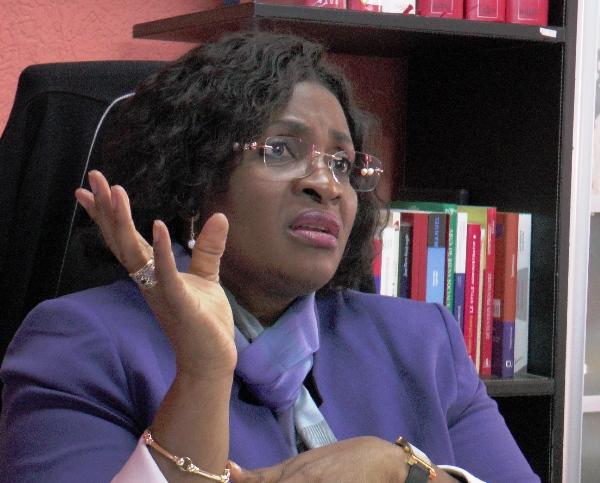 Sidonie Flore Ouwé, procureur de la République @ Archives Gabonactu.com