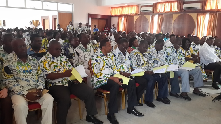 Une vue des participants à la sortie tonitruante d'Heritage et modernité à la chambre de commerce de Libreville @ Gabonactu.com