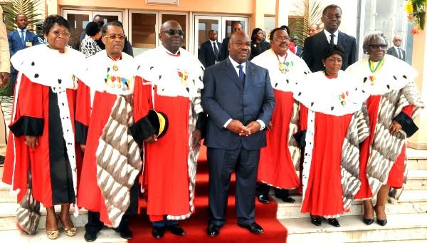 Ali Bongo préside la rentrée judiciaire 2015-2016