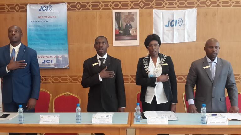 Ouverture de la convention locale 2015 de JCI Libreville- Équateur sous le signe du développement durable