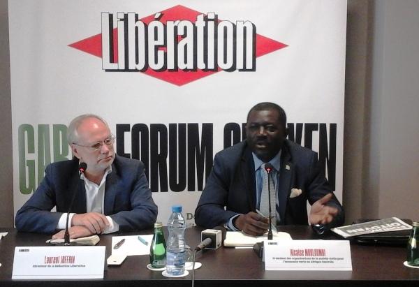 Le journal français Libération exporte son forum au Gabon