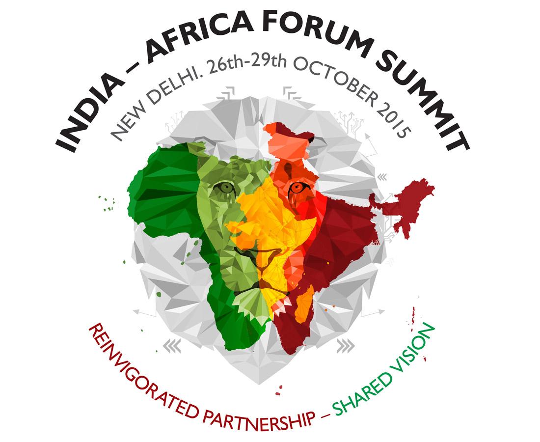 Logo forum Inde Afrique @ DR