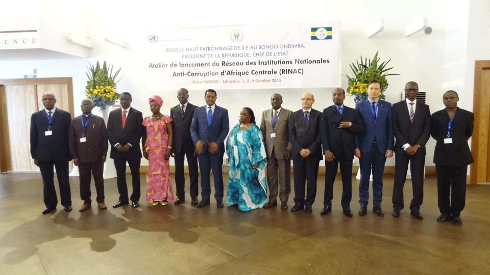 Ouverture de l'atelier visant la création d'un réseau de lutte contre la corruption en Afrique centrale