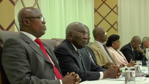 Face à face Michaelle Jean et l'opposition gabonaise @ archives Gabonactu.com
