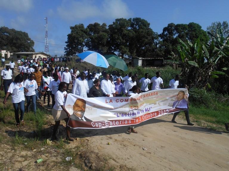 Marche de soutien au président Ali Bongo @ Gabonactu.com