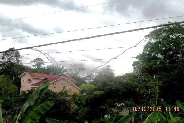 La rupture d'un câble électrique à l'origine d'un week-end perturbé à Libreville