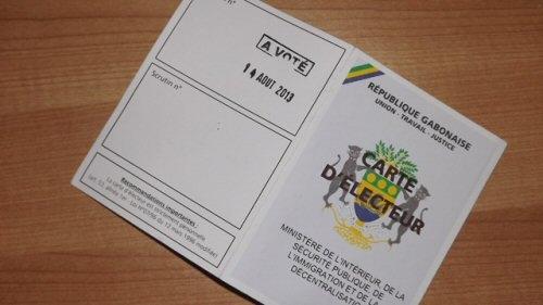 Gabon : la liste électorale sera révisée du 30 octobre au 13 décembre (Officiel)