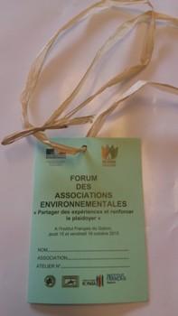 forum ONG environnementales