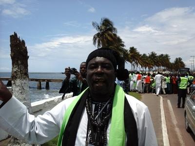 Un des représentants des mourides au Gabon @ Gabonactu.com