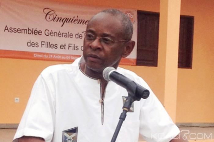 Le DG sortant de la CAISTAB, Léon Paul Ngoulakia @ DR