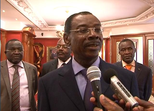 Séraphin Ndaot chez Ali Bongo pour l'intendance du CND