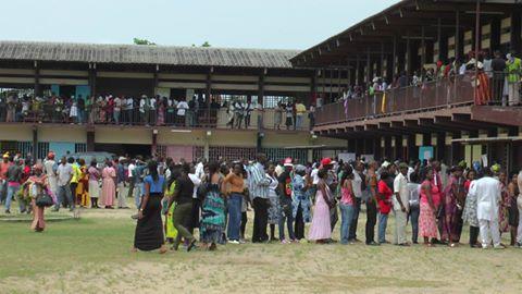 Electeurs gabonais lors des élections locales de 2013 @ Gabonactu.com