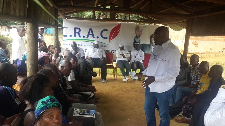 Le CRAC animera une grande causerie citoyenne en faveur d'Ali Bongo  à Koula-Moutou le 14 novembre prochain
