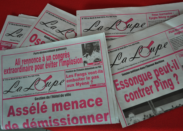 Sogapresse suspend la distribution de l'hebdomadaire La Loupe