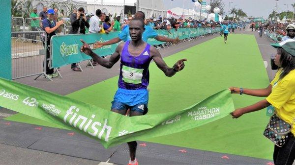 Kenyans et Ethiopiens règnent sur le marathon du Gabon