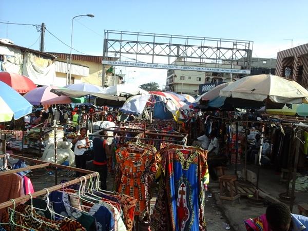 Ambiance morose au marché Mont Bouet @ Gabonactu.com