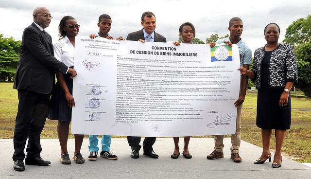 Le palais Oyo officiellement cédé aux jeunes gabonais