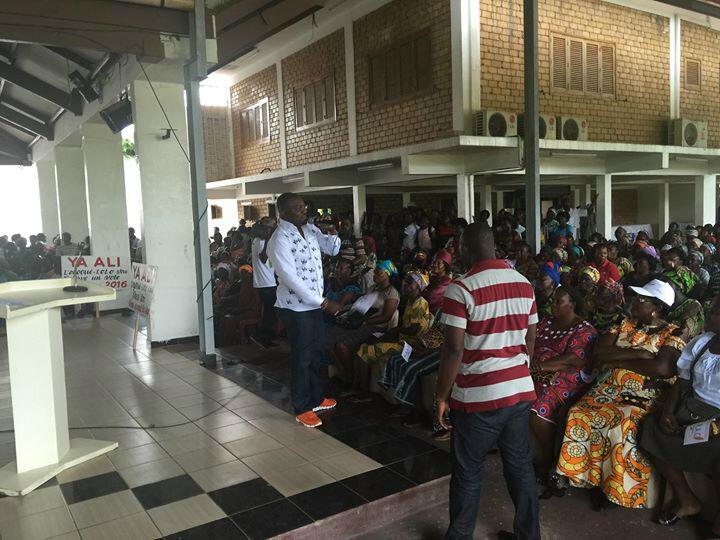 Le CRAC appelle l'Ogooué-Lolo à soutenir Ali Bongo Ondimba