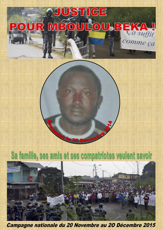 Gabon : le gouvernement a interdit un rassemblement en mémoire de Mboulou Beka