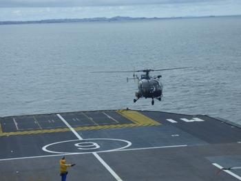 Piste d'atterrissage et de décollage des hélicoptères @ Gabonactu.com