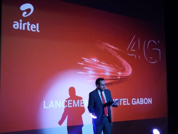 Le DG d'Airtel invitant ses clients à vivre une nouvelle expérience @ Gabonactu.com