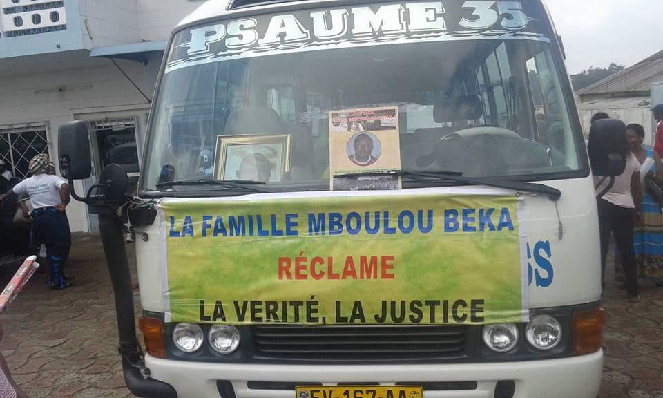 Enfin des funérailles pour Mboulou Beka, un an après sa mort