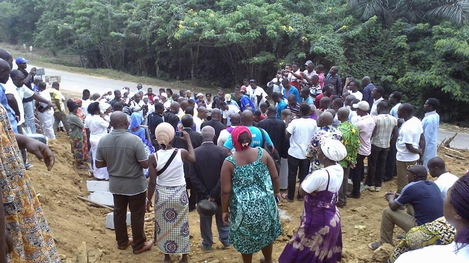 Mboulou Beka inhumé dans son village à Konoville un an après son décès