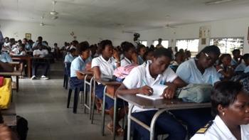 Les gens de mer sont aussi aller sensibilser les élèves @ Gabonactu.com