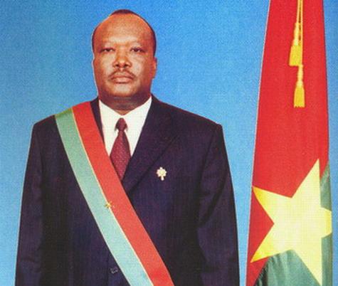 Ali Bongo Ondimba à l'investiture Roch Marc Christian Kaboré