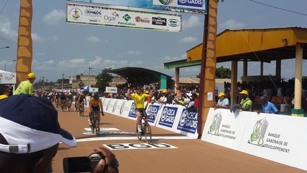 2ème victoire consécutive de l'italien Andréa Palini à la Tropicale Amissa Bongo 2016