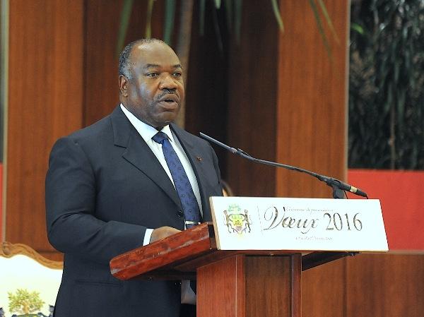 Ali Bongo a reçu ses derniers vœux à la nation pour son 1er mandat