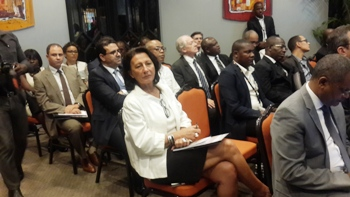 Une vue des participants à la cérémonie de lancement @ Gabonactu.com