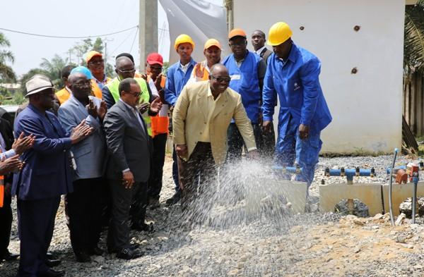 Adieu les pénuries d'eau pour 100 000 librevillois