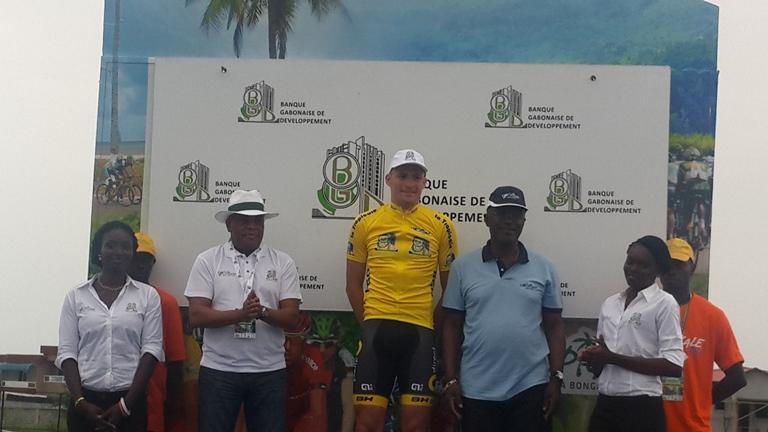 Le français Adrien Petit fait tomber le maillot jaune à la 6ème étape de la Tropicale Amissa Bongo 2016