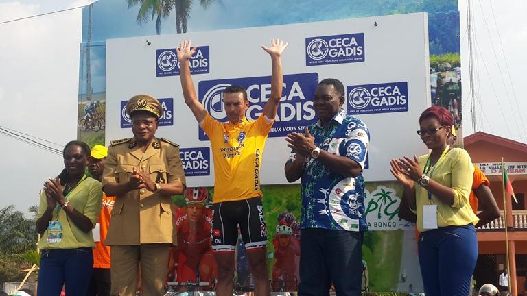 Le marocain Adil Jelloul s'adjuge la victoire à la 4ème étape de la Tropicale Amissa Bongo 2016