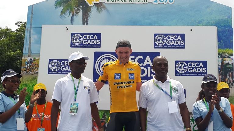 3ème étape de la Tropicale Amissa Bongo 2016 : Le Français Adrien Petit victorieux à l'arraché