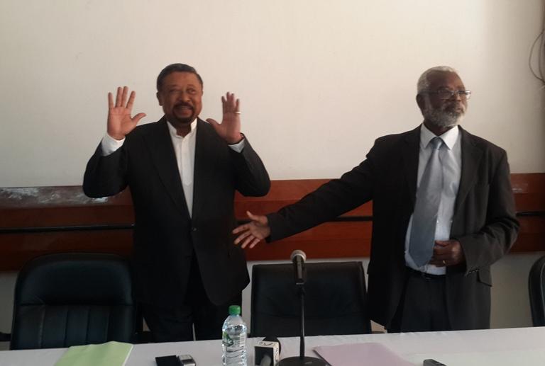 Benoit Mouity Nzamba se rallie à l'opposant Jean Ping