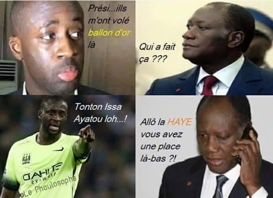 Yaya Touré déculotté à Libreville