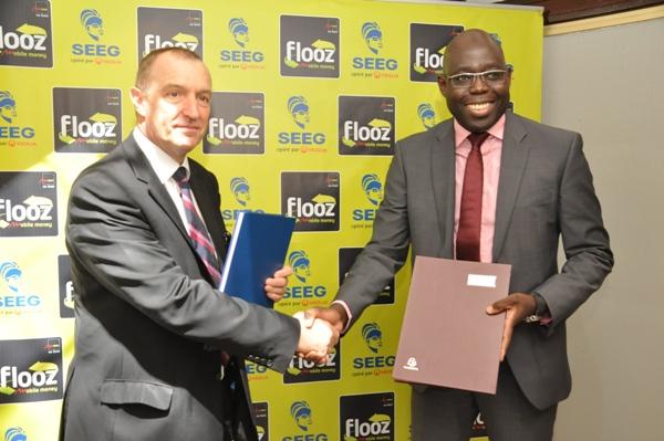 Signature d'un contrat de partenariat entre Moov Gabon et la SEEG