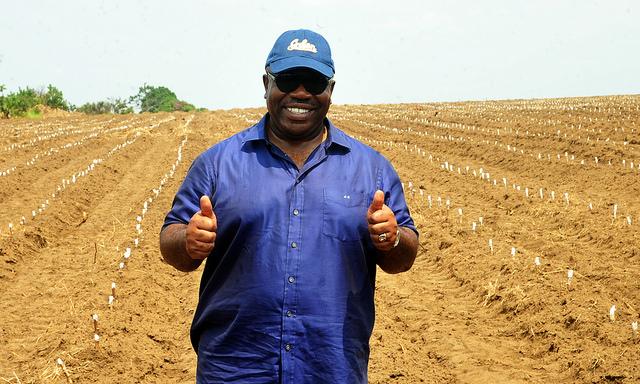 Ali Bongo et le rêve de l'autosuffisance alimentaire @ DCP