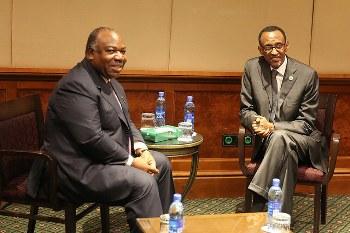 Ali Bongo Ondimba et Jacob Zuma @ DCP