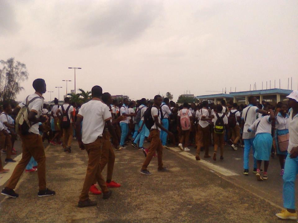 Échauffourée au Lycée d'Etat, 10 élèves interpellés (officiel)